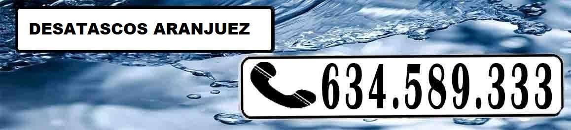 Desatascos Aranjuez Urgentes