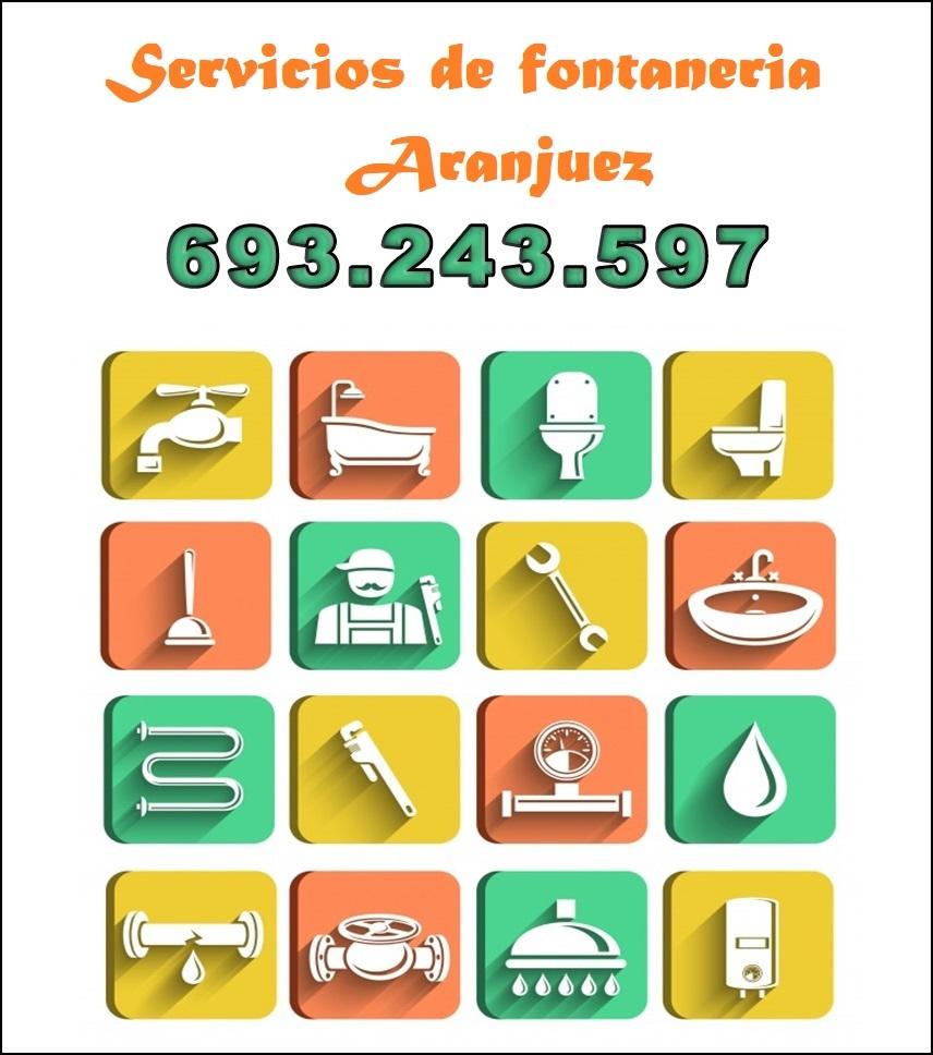servicios de fontaneria en aranjuez